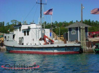 "SEALED BID SALE – Motor Vessel ""Cisco"""